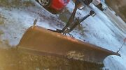 9 Ft Foot Western Snow Plow Uni Mount Frame No Pump In Ny