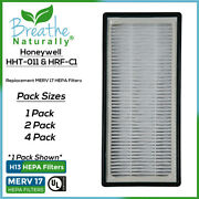 1|2|4 Pack Replacement Hepa Filter For Honeywell Hht-011 Hht011 Hht-081 Hht-085