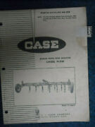 Case Parts Catalog 888 For M5600 Series Rear Mounted Chisel Plow