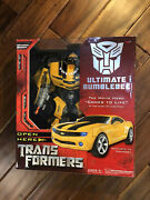 Transformers Ultimate Bumblebee Figure Rare Mint In Box Hasbro Collectible New