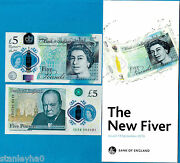 England Andndash Historic First Andpound5 Polymer Issue Victoria Cleland 13.9.2016 W/booklet