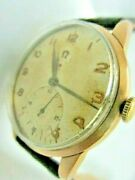 Classic Swiss Gold Plated Vintage Watch Omega Cal 265 From 1947