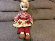 Rare I Love Lucy Cloth Rag Doll 1953 - Lucille Ball Lucy- Desi