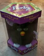Vintage 1998 Furby Model 70-800 Black With Green Eyes New Sealed