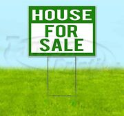 House For Sale 18x24 Yard Sign With Stake Corrugated Bandit Usa Real Estate