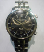 60s Weekly Auto Orient King Diver Dual Crowns Compressor Style W/ Org. Bracelet