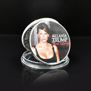 Nice Silver Coin Melania Trump Metal Coins Collectibles Challenge Coin For Gifts