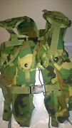 Usa Army Military Woodland Camo Camouflage Tactical Load Bearing Vest