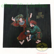 Set3pcshand Painted 30x11andldquowood Board Wall Hanging Decorhmong People Dance