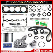 Head Gasket Set Bolts Timing Belt ,water,oil Pump For 04-05 Chevrolet Aveo 1.6l