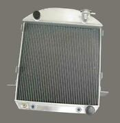 1924 - 1927 Ford T-bucket 3 Row Aluminum Radiator W Chevy Inlet Outlet Sale