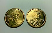 2001/2006 Pandd Native American Indian One Dollar Sacagawea Us Mint Coin