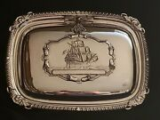 Antique Silver Bed Pan Warmer/superior Quality
