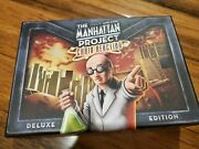 Minion Board Game The Manhattan Project Chain Reaction Deluxe Edition Box Nm
