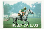 Original Rolex Datejust English Booklet Dated 1988 Ref. 593.06