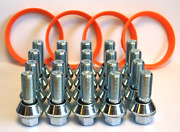 M14x1.5 Variable Wheel Bolts Wobbly + Spigot Rings Fit Bmw Wheels To Primastar