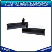 Set/2 For Chevy S10 Gmc Pickup Outer Black Door Handle Driver And Passenger Side