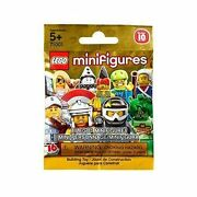 Lego Series 10 Complete New Sealed - 16 Unique Minifigures, No Mr. Gold