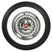 Coker American Classic 2 1/2 Wide White Wall Radial Tire P235/75r14