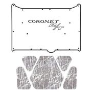 Backorder Only Hood Insulation Pad Cover For 1968-1970 Dodge Coronet W/mb-065 C