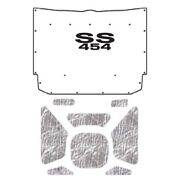 Hood Insulation Pad Heat Shield For 1964 Chevrolet Under Hood Cover With G-ss454
