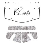 Hood Insulation Pad Heat Shield For 1975-1977 Chrysler Cordoba Front W/ Mb-075