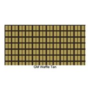 Trunk Floor Mat Cover For 1959 Cadillac Deville 2-door Coupe Waffle Tan 11pc