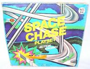 Burjasot Spain Shamber's Space Chase Racing Jet Vehicle Toy Track Playset Mib`70