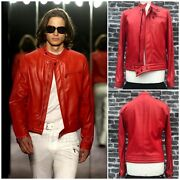 Ultrarare And Gorgeous Yves Saint Laurent Tom Ford Ss04 Leather Motorcycle Jacket