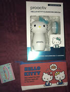 Hello Kitty Cleansing Brush Limited Edition And Makeup Bag New