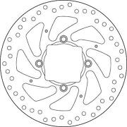 68b407h2 - Brake Disk 68b407h2 Compatible With Ducati Xdiavel S 1262 2016- R