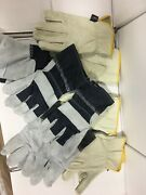 Lot Of 6 Working Gloves