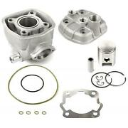 Kit Engine Cylinder Piston Complete Iron Compatible With Bultaco Astro 50 2t-
