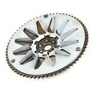 Toothed Fixed Pulley With Fan 2t 50cc Pe.732801 Compatible With Peugeot Zenith