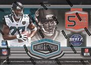 2017 Panini Plates And Patches Football Hobby Box Blowout Cards