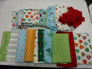 Over The River Christmas Quiltsoup Henry Glass Large Lot Quilt Fabric New 17629
