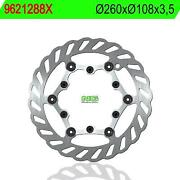 9621288x - Brake Disk Compatible With Factory Bike Yr Desert 125 2001-2001