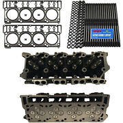 New 18mm Cylinder Heads Arp Mahle Head Gaskets - Fits Ford Powerstroke 6.0l