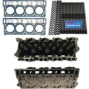 New 18mm Cylinder Heads Arp Oem Head Gaskets - Fits Ford Powerstroke 6.0l