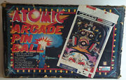 Games Vintage Atomic Arcade Pin Ball Game Made By Tommy / Palitoy In 1979 By