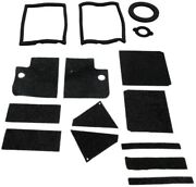 Heater Box Gasket Kit Weatherstrip Seal For Ford Falcon 1960-63 2/4dr Rubber
