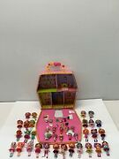 Lot Of 28 3andrdquo Lalaloopsy Dolls With 11 Sisters/accessories/case/playset