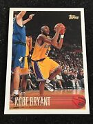 1996-97 Topps Rookie Kobe Bryant Card 138 Los Angeles Lakers Rc Mint Psa 9-10