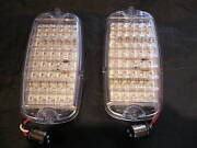 1960196119621963196419651966 Chevrolet Pickup Clear Led Tail Lights 1-pair