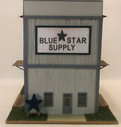 Ho Hon3 Craftsman Custom Built Blue Star Supply Store-story Wood Structure