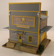 Ho Hon3 Craftsman Custom Built Lone Star Supply Store-story Wood Structure