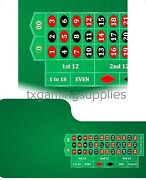 Professional Casino Roulette Digital Table Layout Felt Water And Stain Resistant