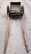 Wwi 1915 Swiss Army Horse Drawn Ammo Cart Complete