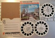 Rare A766 The Historic Towne Of Smithville New Jersey Viewmaster Reels Packet