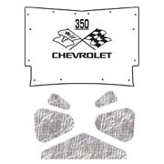 Hood Insulation Pad Heat Shield For 59-60 Chevy A-body And El Camino With Ceid-350